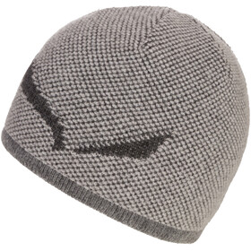 SALEWA Ortles Bonnet en laine, grey